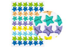 Gommettes Encouragements étoile - 54 pièces - Stickers Fantaisies – 10doigts.fr