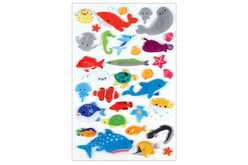 stickers animaux marins 3D