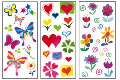 Stickers en plastique pour céramique, verre et métal - Stickers Fantaisies – 10doigts.fr - 2