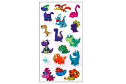 stickers dinosaures 3D