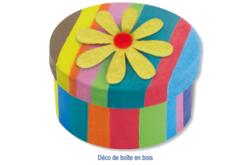 Stickers fleurs en feutrine auto-adhésive - Formes en Feutrine Autocollante – 10doigts.fr - 2