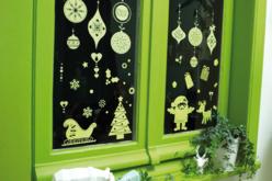 Stickers de Noël phosphorescents repositionnables - 16 stickers - Gommettes Noël – 10doigts.fr - 2