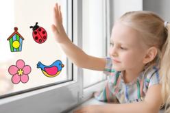 Stickers transparents à colorier - 12 stickers oiseaux - Gommettes à colorier, à gratter – 10doigts.fr - 2