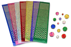 Stickers strass - Set de 1925 - Stickers strass, cabochons – 10doigts.fr