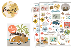 stickers voyages