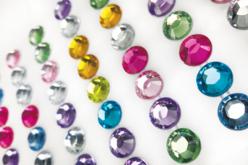 Strass adhésifs ronds - 6 mm ou 1 cm - Stickers strass, cabochons – 10doigts.fr - 2
