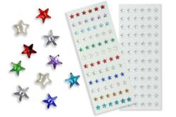 Minis strass étoiles adhésifs - 72 strass - Strass autocollants – 10doigts.fr - 2