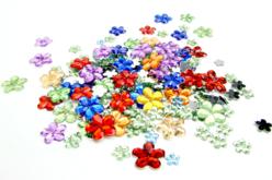 Strass fleurs - 200 strass - Décorations Fleurs – 10doigts.fr - 2