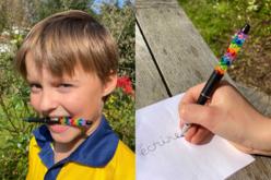 Stylos à bille à personnaliser - 6 stylos - Objets pratiques du quotidien – 10doigts.fr - 2