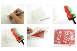 Plaques A4 pour linogravure - 6 plaques - Linogravure – 10doigts.fr - 2