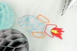 Support métal fusée - Supports pour attrape-rêves – 10doigts.fr - 2