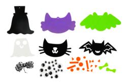 Suspensions d'Halloween - Kit de 20 suspensions - Halloween – 10doigts.fr - 2