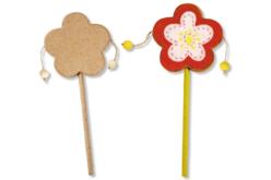 Tam-Tam fleur en bois