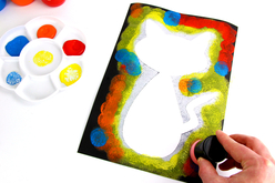 Tampons mousse peinture - Lot de 12 - Eponges – 10doigts.fr - 2