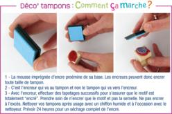 """Tampons """"Noël"""" + 3 encreurs - Set de 10 - Tampon dessin – 10doigts.fr - 2"""
