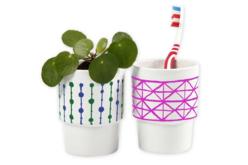 Mug droit en porcelaine - Supports en Céramique et Terre Cuite – 10doigts.fr - 2