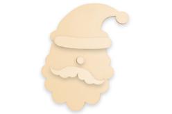 Grand Père Noël à accrocher - Décorations de Noël en bois – 10doigts.fr - 2