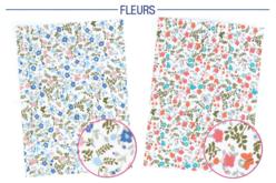Tissus adhésif fleurs