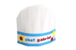 Toques de chef en non-tissé blanc - Taille enfant - Objets pour la cuisine – 10doigts.fr - 2