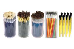 Tubos de pinceaux scolaire - Matériels pour collectivités – 10doigts.fr