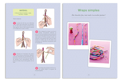 Livre : 100 Bracelets brésiliens - Livres Bijoux – 10doigts.fr - 2