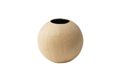 Vase en papier mâché Ø 11 cm - Pots, vases en carton – 10doigts.fr