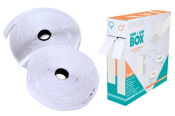 Bandes de velcro adhésif blanc ou noir - Velcro , scratch – 10doigts.fr - 2