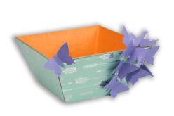 Corbeille vide-poches en papier mâché - Paniers, plateaux en carton – 10doigts.fr - 2