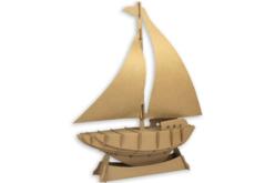 Maquette voilier en carton à assembler - Maquettes en carton – 10doigts.fr