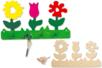 Kit Porte-Clefs fleurs - Porte-clefs - 10doigts.fr