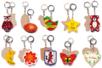 Porte-clefs motifs assortis - Porte-clefs en bois - 10doigts.fr