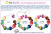 Bracelets en grosses perles à facettes - Bijoux – 10doigts.fr