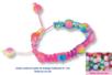 Shamballas... avec des perles en verre arc en ciel - Bracelet Shamballa – 10doigts.fr