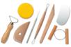 Outils modelage poterie - Set de 8 - Outils de Modelage – 10doigts.fr