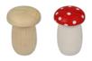 Tirelire champignon en bois - Tirelires - 10doigts.fr
