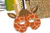 Papiers animaux 23 x 33 cm - 26 feuilles - Papiers motifs animaux – 10doigts.fr