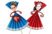 Marionnettes en papier - Activités enfantines – 10doigts.fr