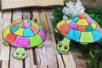 Fabriquer une tortue avec une assiette en carton - Activités enfantines – 10doigts.fr