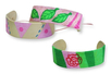 Bracelets avec des bâtonnets de glace - Activités enfantines – 10doigts.fr