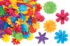 Fleurs en tissu - Set de 300 - Fleurs et feuilles – 10doigts.fr