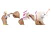 Papillons volants à décorer - 10 pièces - Objets décoratifs en carton – 10doigts.fr