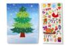 Cartes de Noël +  stickers - 2 cartes - Cartes de Noël – 10doigts.fr