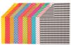 Papiers motifs géométriques - 20 feuilles imprimées - Papiers motifs géométriques - 10doigts.fr