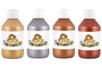 Peinture acrylique métallisée - 4 flacons de 250 ml - Acrylique Métallisée – 10doigts.fr