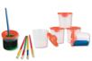 Pots antiverse - Lot de 5 - Palettes et rangements – 10doigts.fr