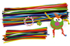 Chenilles couleurs assorties - Chenilles, cure-pipe – 10doigts.fr