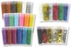 Paillettes couleurs assorties - 30 tubes - Paillettes à saupoudrer – 10doigts.fr
