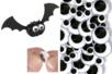 Yeux mobiles noirs adhésifs  - Set de 40 - Yeux mobiles adhésifs – 10doigts.fr