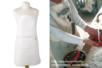 Tablier en coton avec poche - Coton, lin – 10doigts.fr