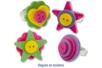 Boutons fantaisie en plastique - Set de 350 - Boutons – 10doigts.fr